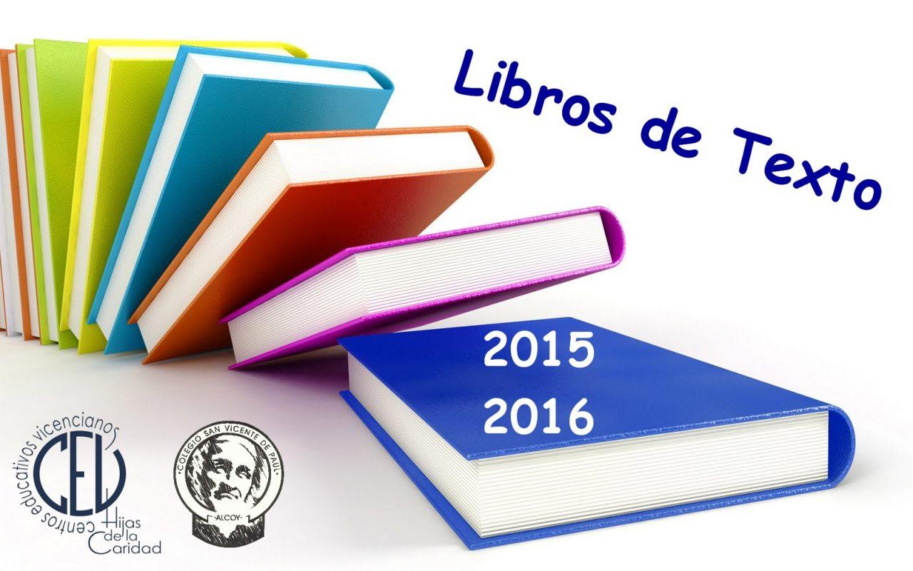 Libros 2015-2016